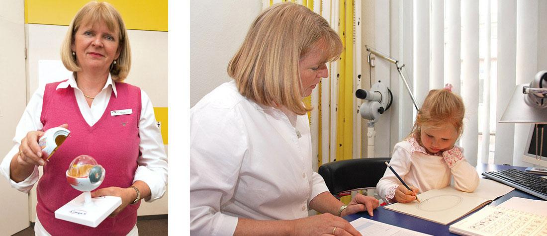 Kinder - Augenarztpraxis Blankenese, Hamburg // Augenärztliche Praxisklinik Am Tierpark, Hamburg