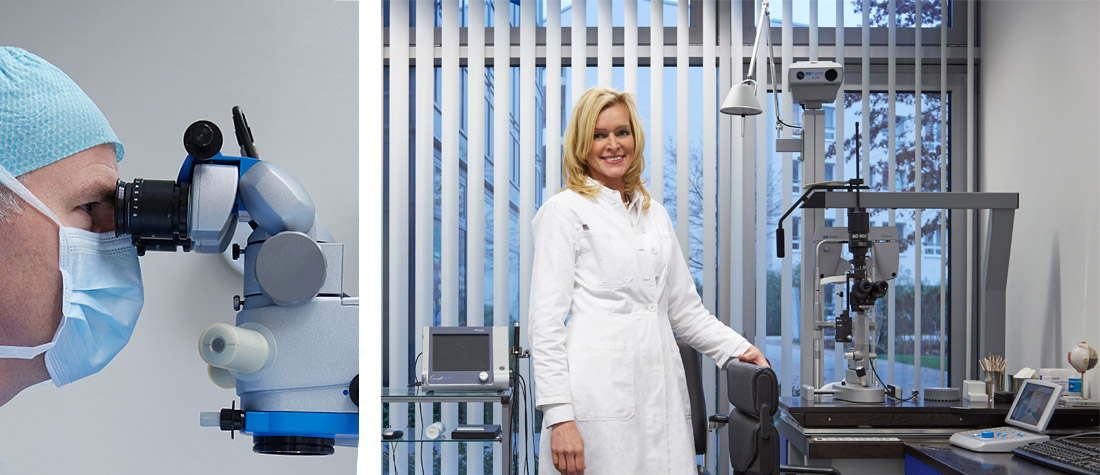 Operationen - Augenarztpraxis Blankenese, Hamburg // Augenärztliche Praxisklinik Am Tierpark, Hamburg