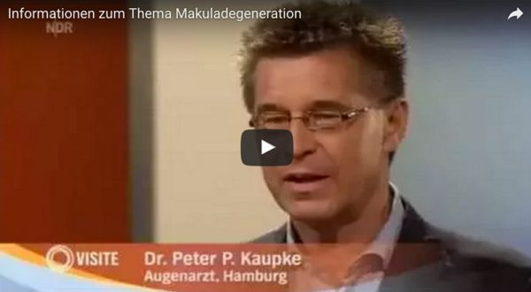Video: NDR-Visite: Interview mit Dr. Kaupke zum Thema Makuladegeneration