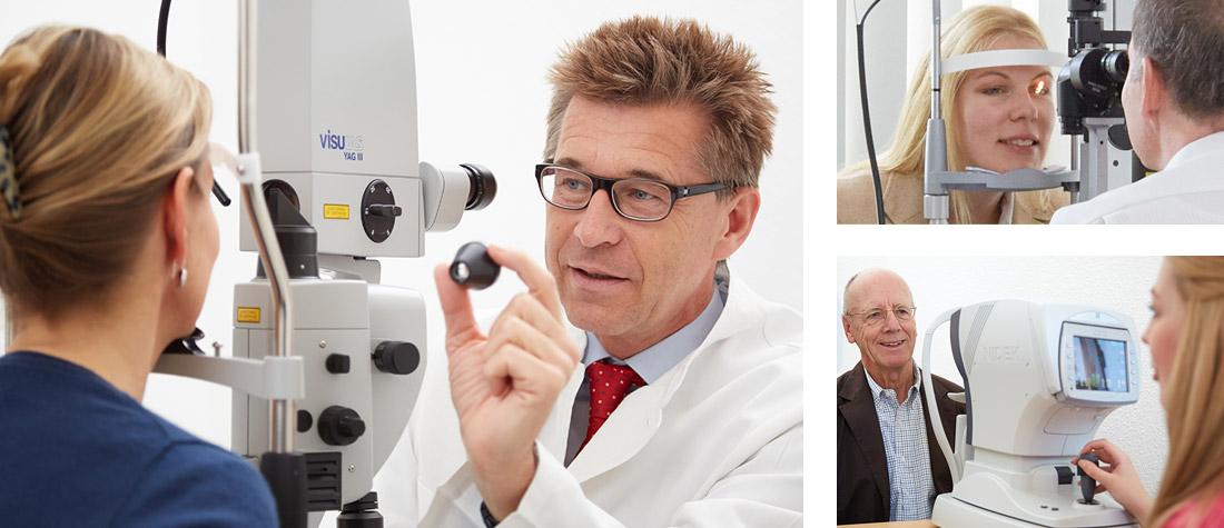 Vorsorge - Augenarztpraxis Blankenese, Hamburg // Augenärztliche Praxisklinik Am Tierpark, Hamburg